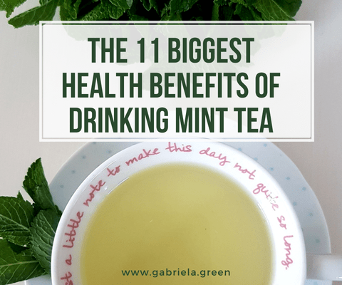 THE 11 BIGGEST HEALTH BENEFITS OF DRINKING MINT TEA_ www.gabriela.green