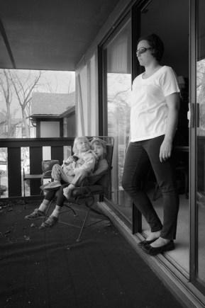 gabriela fine art photography- portrait of a woman as a mother- Julie