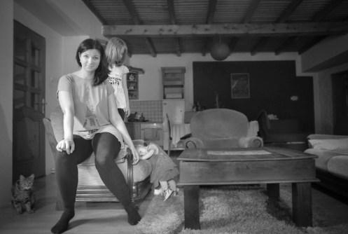 gabriela fine art photography- portrait of a woman as a mother, Anita