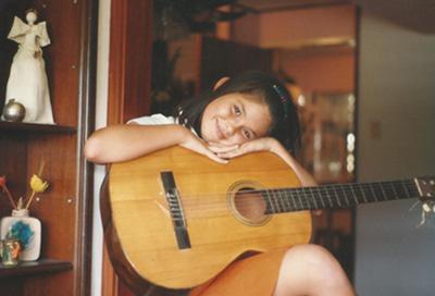 Gabriela Isler - Infancia