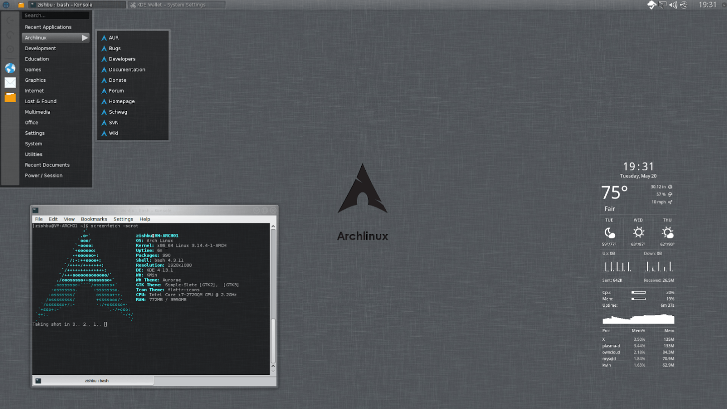 ArchLinux Thoughts and Installation Notes | GabrielBeaver me