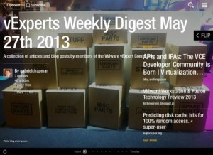 vExperts Weekly Digest – May 27th 2013
