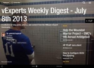 vExpert Weekly Digest – July 8th 2013