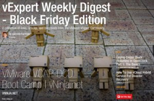 vExpert Weekly Digest – Black Friday Edition