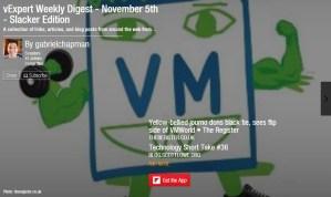 vExpert Weekly Digest – November 5th 2013 – Super Slacker Edition