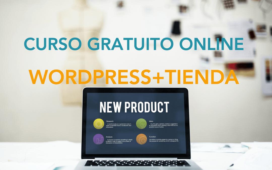 3ª edición Curso de WordPress + tienda online