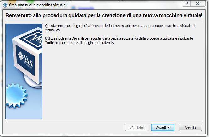 installare windows 3.1 su virtual box (1/6)
