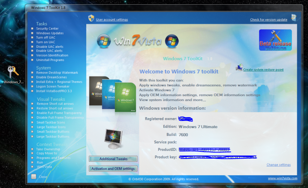 windows 7 activation toolkit (1/6)