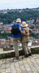... mit Blick auf Esslingen und das Neckartal
