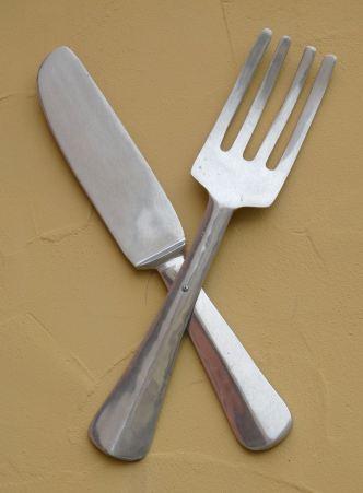 Messer-Gabel-Esswerkzeuge