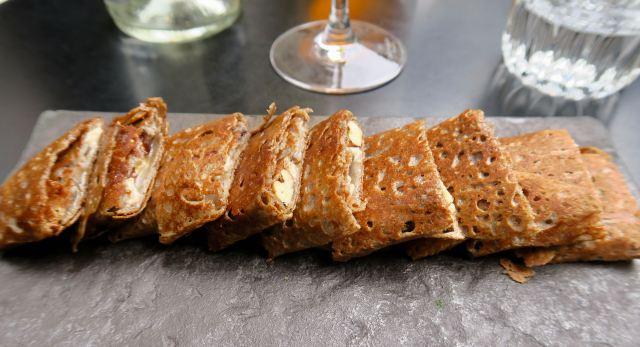 Galette mit Feigen Walnüssen Camembert