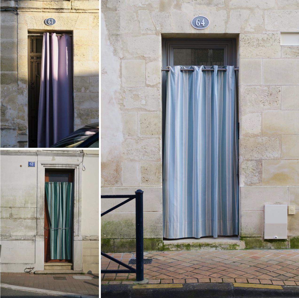 Bordeaux Rideaux de porte