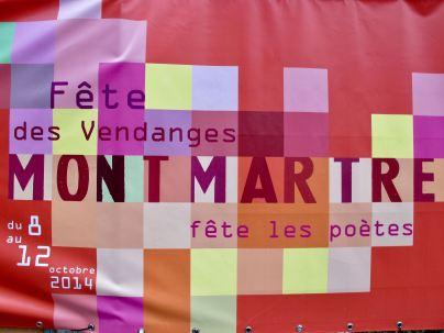 Weinlesefest Paris Montmartre 2014