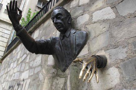 Paris Montmartre Place Marcel Aymé