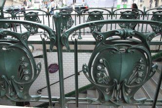 Paris Metro Jugendstil