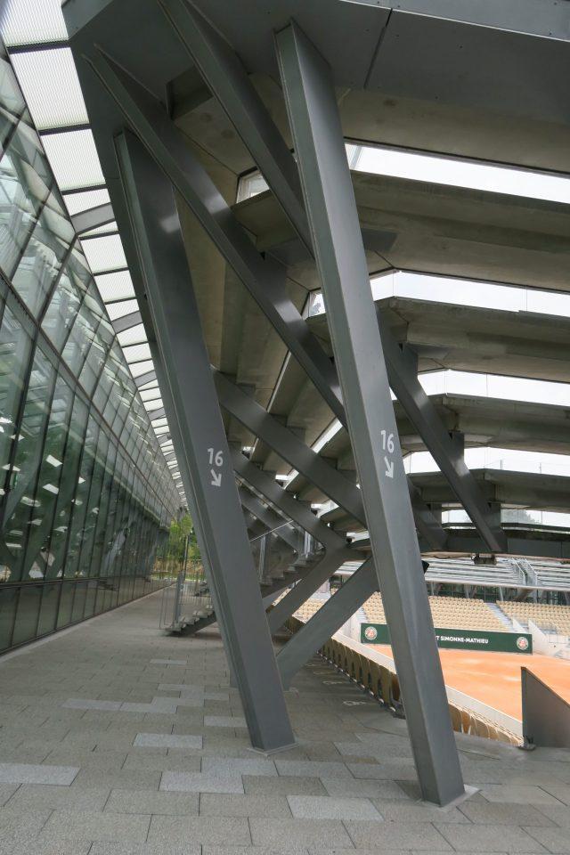 Paris Serres d'Auteuil Tennisplatz