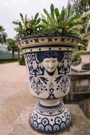 Paris Serres d'Auteuil Garten