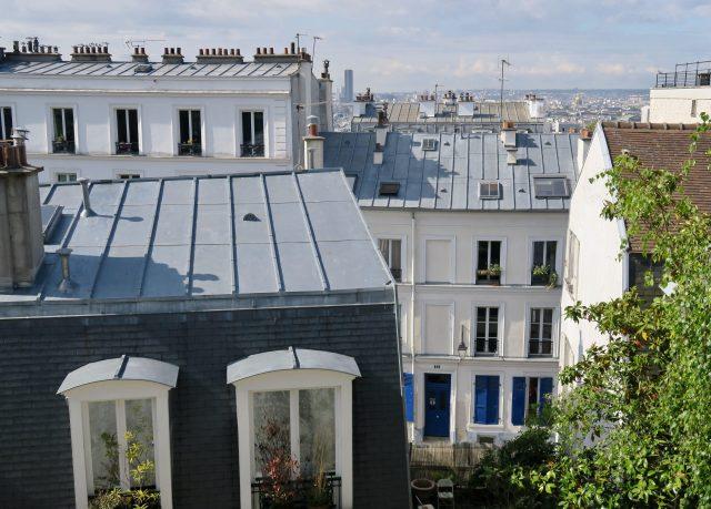 Paris Montmartre Dächer