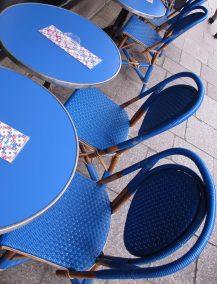 Caféstühle Paris