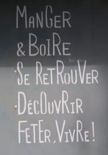 Ladenschild Paris