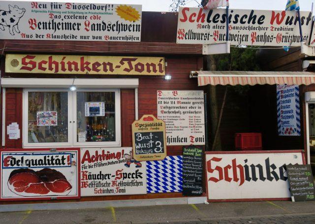 Düsseldorf Markt Carlsplatz Schinken-Toni