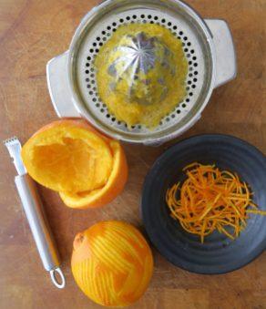 Orangenvinaigrette