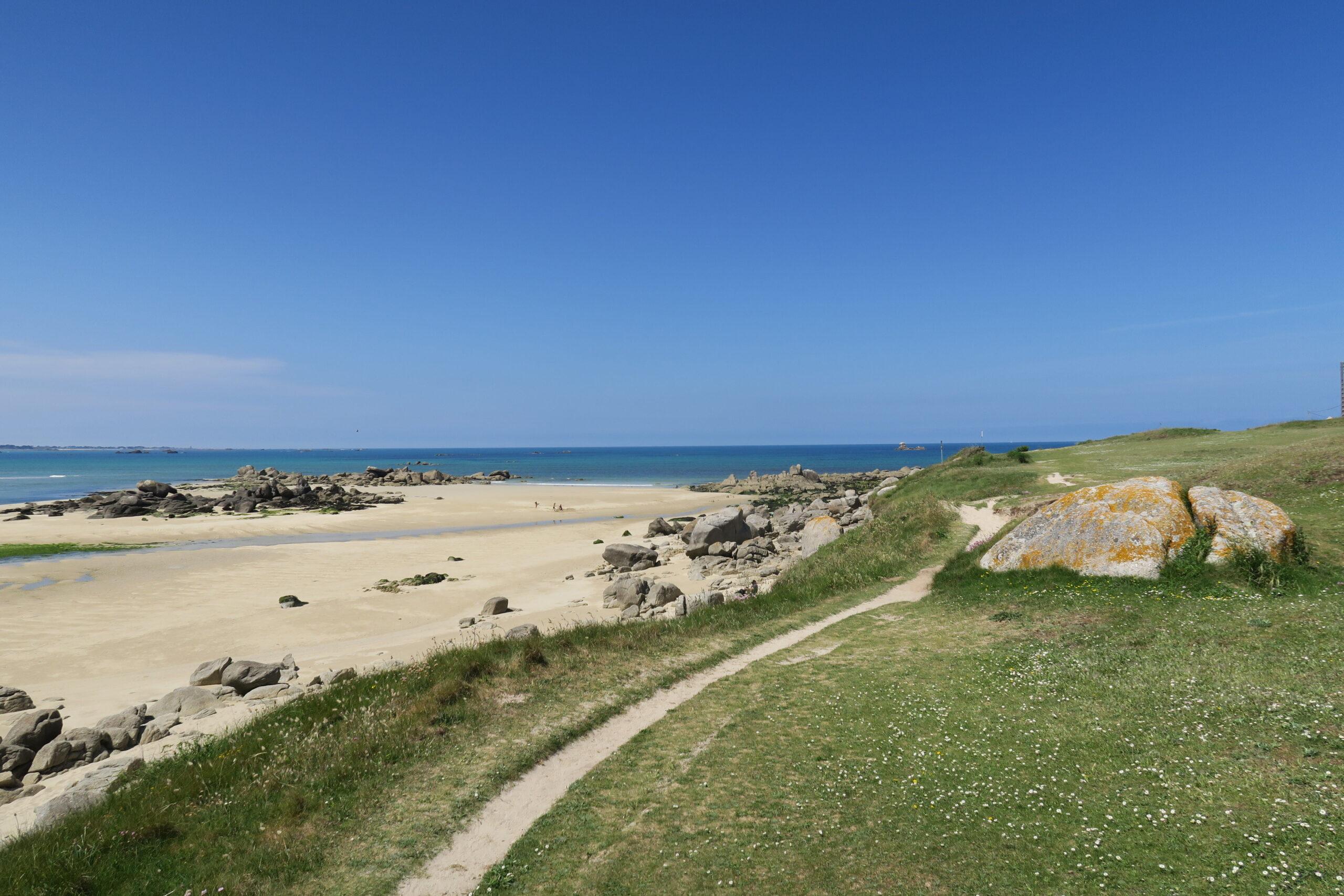 GR34 bei Plouescat Bretagne Finistère
