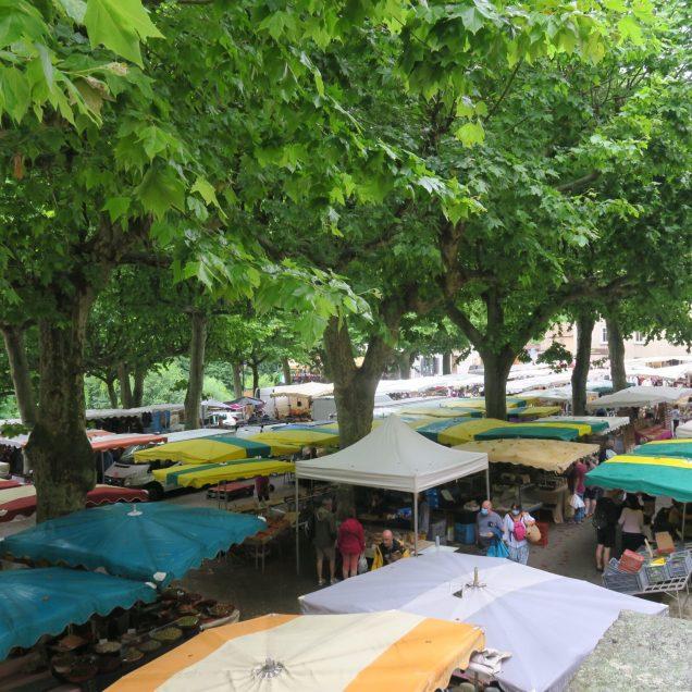 Ardèche Markt Largentière