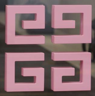 Typo Quadrat Givenchy