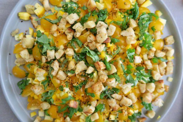 Zucchini Paprika Möhre Tomaten