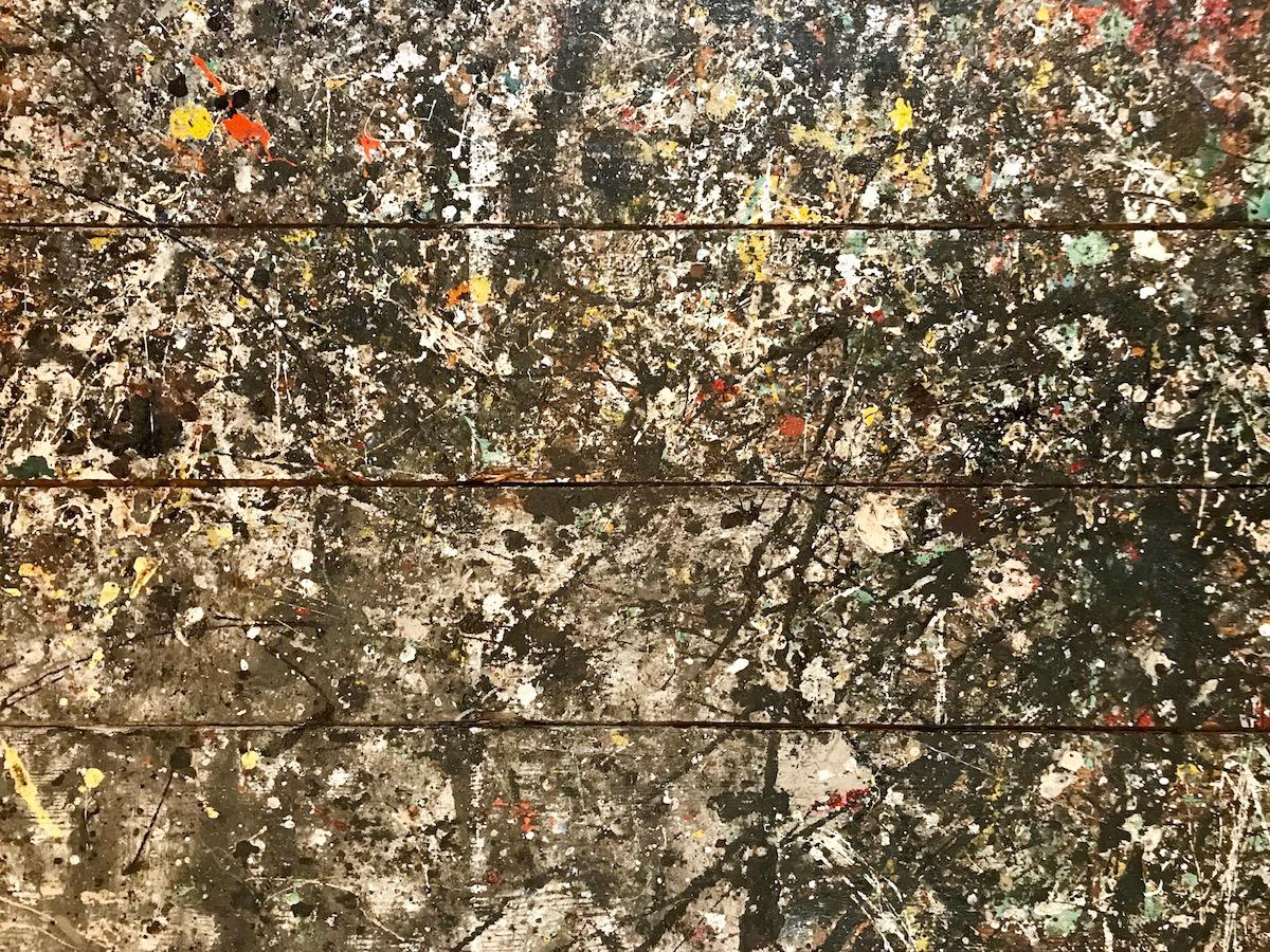 Pollock: ordine dietro al caos