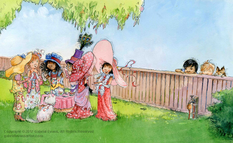 A Perfectly Posh Pink Afternoon Tea (Scholastic)