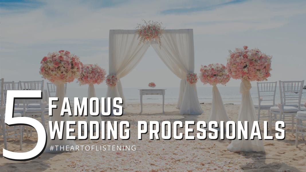 5 Wedding Processionals Podcast Bumper