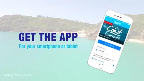Coast FM app promo