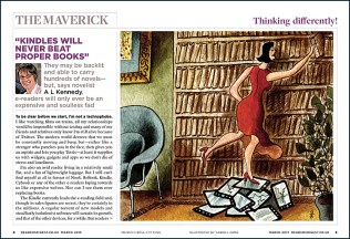 Illustration for a page spread in Reader's Digest UK. Art director: Martin Colyer.