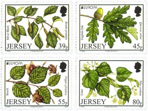 Jersey Europa stamps