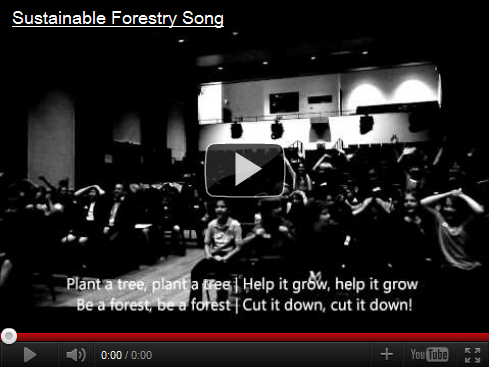 Sustainable forestry song