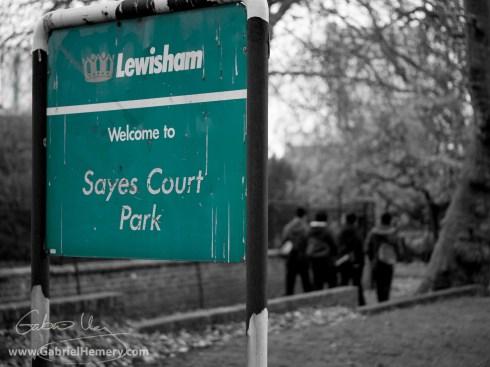 Sayes Court Park, SE8