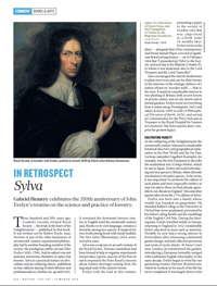 Hemery, In retrospect: Sylva. Nature, 507, 166–167, (13 March 2014), doi:10.1038/507166a