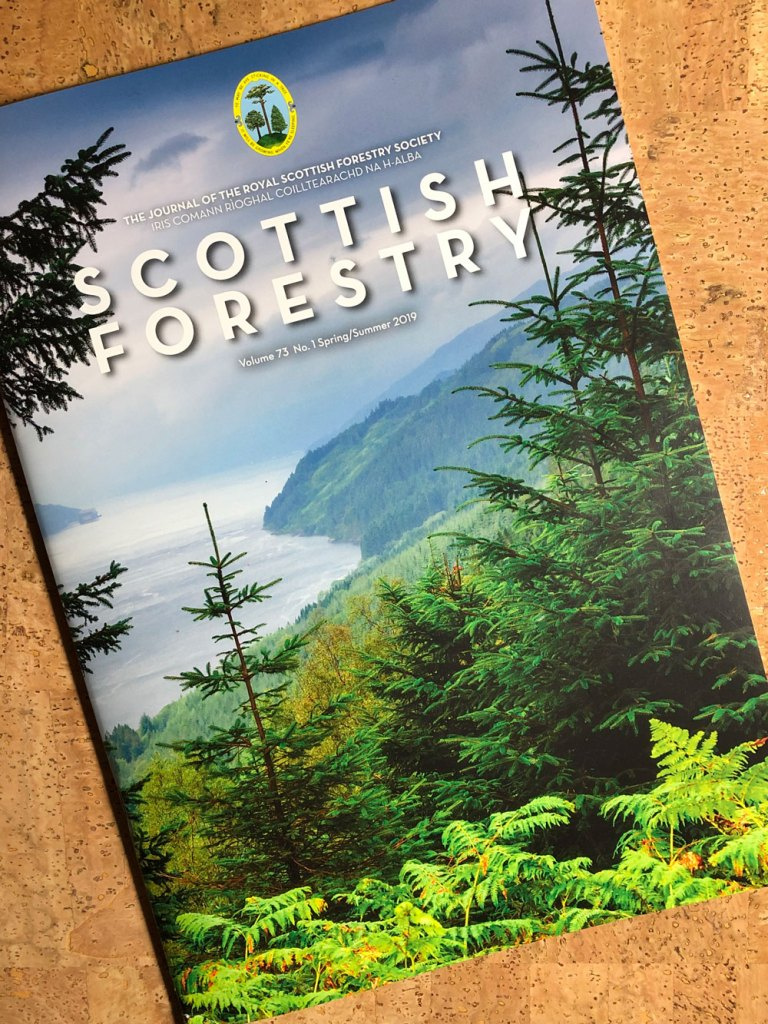 Scottish Forestry journal Spring2019