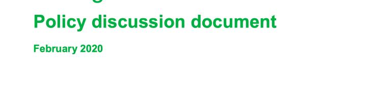 Defra ELMs discussion doc