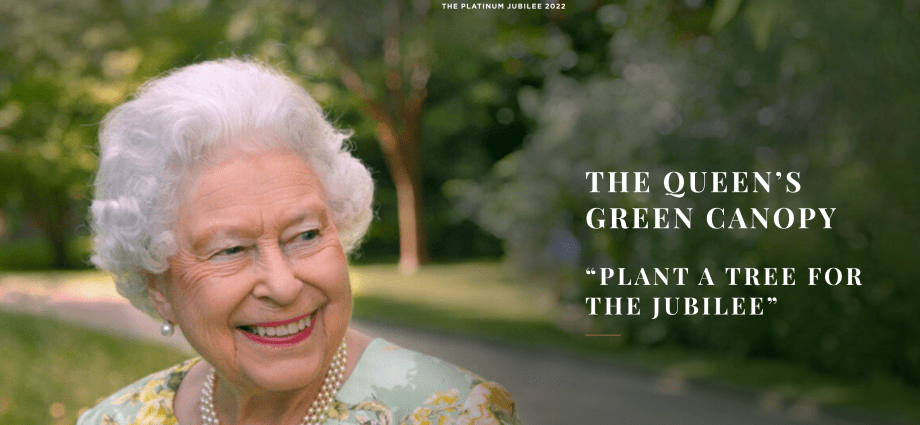 The Queen's Green Canopy