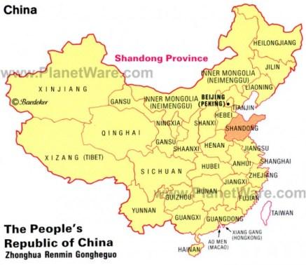 china province-map