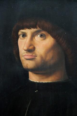 Antonello da Messina - Condottiero (Louvre)