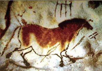 Lascaux (Dordogna). Arte rupestre 17.000 anni fa