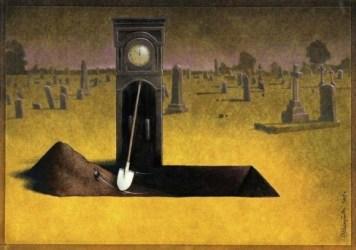 il tempo scava la fossa a ognuno