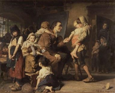 Pestalozzi tra gli orfani di Stans