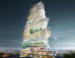 grattacielo a spirale