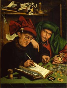 Marinus Van Reymerswaele, Gli usurai - 1540