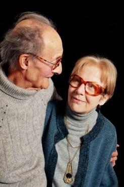 André Gorz et saa femme Dorine dans une photo d'archive. (1999)